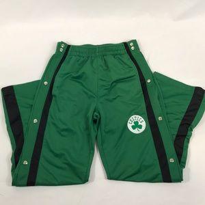 NBA- Celtics tear away pants. Size 10/12 boys